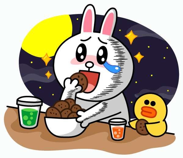 零食盒子卡通简笔画