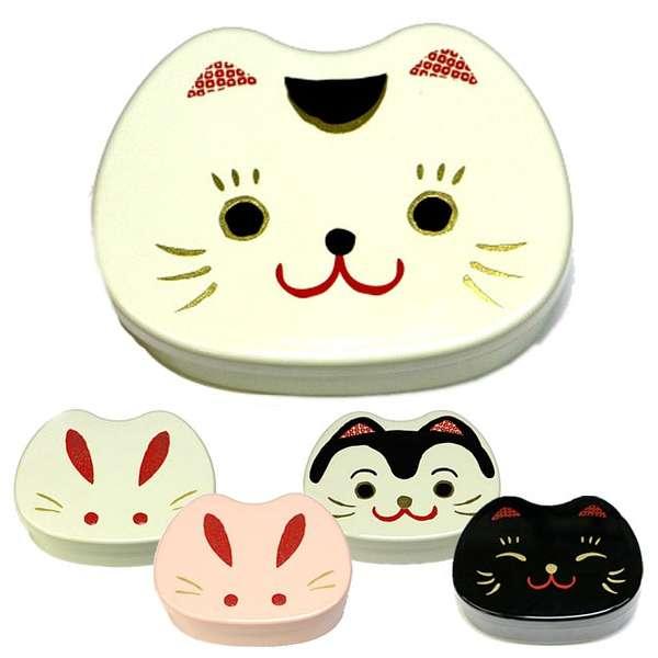可爱的动物脸造型,因为太萌,很多人狠不下心拿来吃饭,反而当作饰品盒