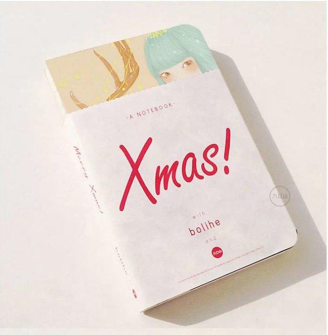 九口山·玻璃盒圣诞系列笔记本